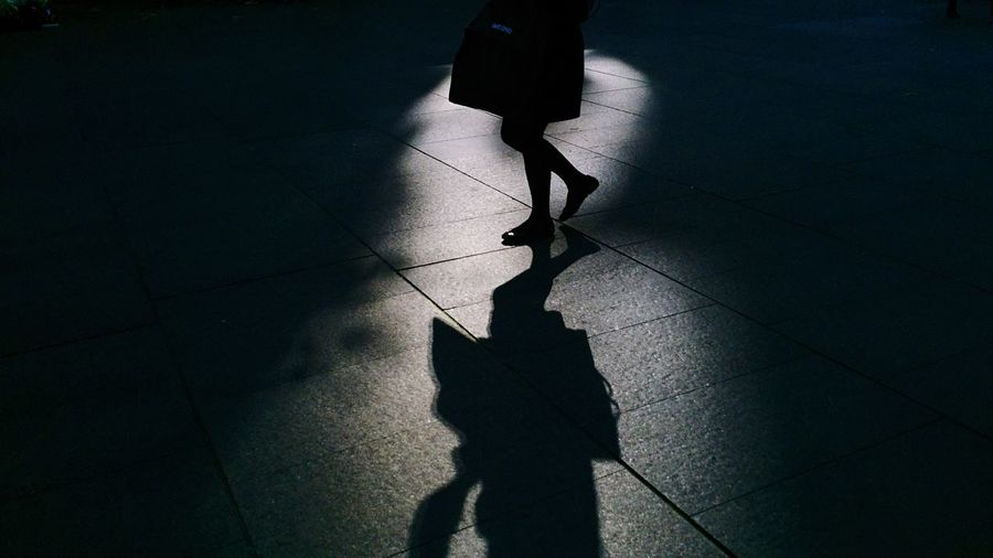 Silhouette | Osanpo Camera | Open Edit | Light Spots