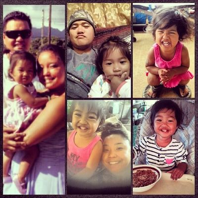Happy 2nd BIRTHDAY to our little Princess Alaina! We love you! @choch00 @raynebows07 Alaina33013 Princess Con3girl Lanai hawaii