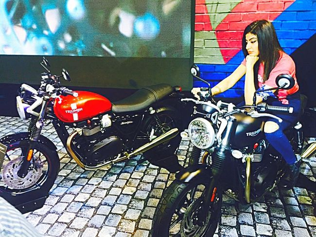 ShotOniPhone6 Motorcycles Triumph Autoexpo2016 Delhi, India First Eyeem Photo