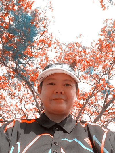 Button Up Amateur Golfer Golfing Golf Course Golf Is My Life ⛳️ Selfie ✌ Self Portrait Orange Faces Of EyeEm Elegance Everywhere