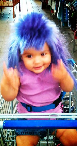 Tina?... Cute Baby Wig Costume Playing