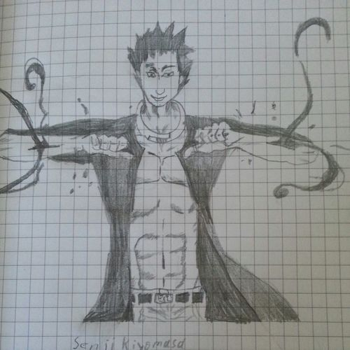 Deadmen Deadmanwonderland Dw Manga Anime Shinji Shinjikagawa Crow Drawing Pencil