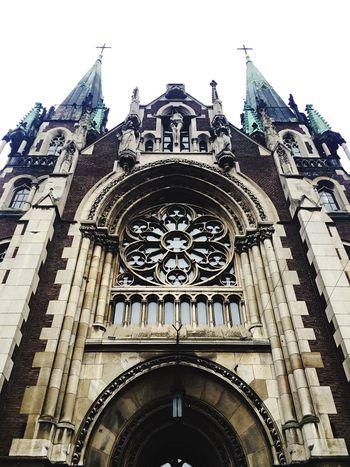 Religion Cathedral Historical Building Lemberg Lviv Architecture Ukraine Taking Photos Enjoying Life Traveling Architectural Detail Details