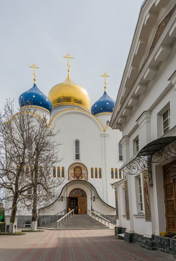 The Holy Dormition Odessa Patriarchs Monastery Architecture Church Monastery Orthodox Church Building Religy Saint Summer
