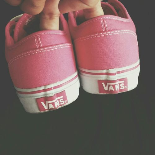 a nice pair of shoes takes you to nice places Vans My Pink Obsession Shoes Of The Day Light And Shade