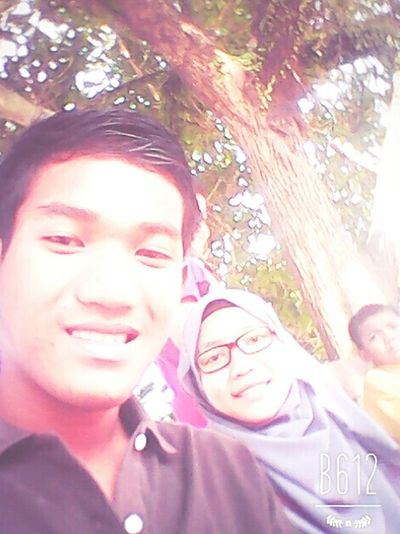 sister and brother😜😝😅
