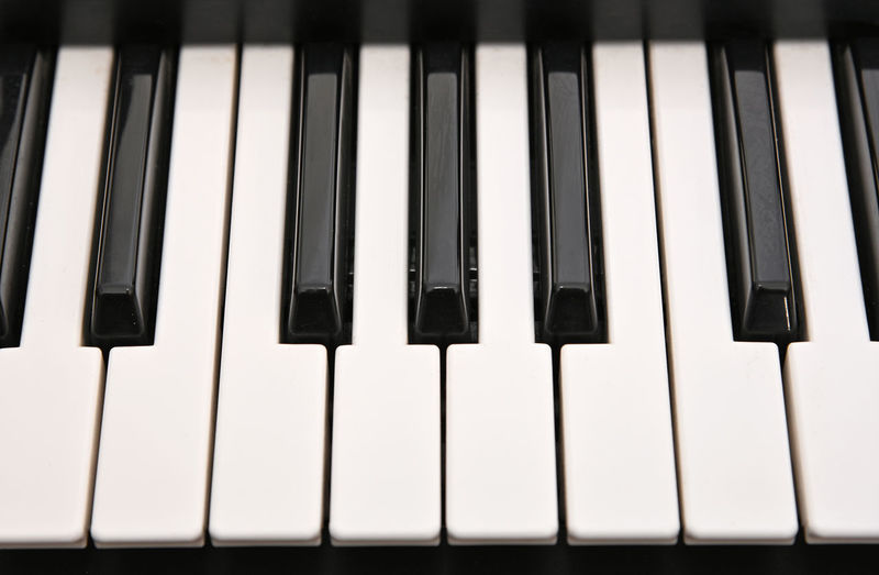 Musical keyboard background pattern Musical Instrument Piano Musical Equipment Piano Key Music Arts Culture And Entertainment Close-up White Color Black Color Keyboard Instrument No People Keyboard Full Frame High Angle View Backgrounds In A Row Keys Copy Space