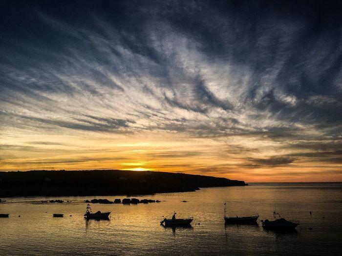 The Week On EyeEm Breathing Space SPAIN Sea Sunset Beauty In Nature Nature Cloud - Sky Horizon Over Water
