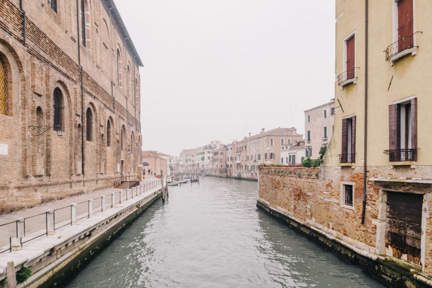 Architecture Building Exterior Built Structure Canal Clear Sky Day Nature Nautical Vessel No People Outdoors Sky Transportation Travel Destinations Water Waterfront