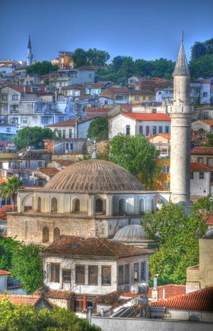 Mosque Mosque Mosques Town Mosque Kusadasi Turkish Mosque
