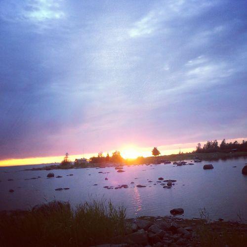 Sun Set Epic Sea Side Beauty