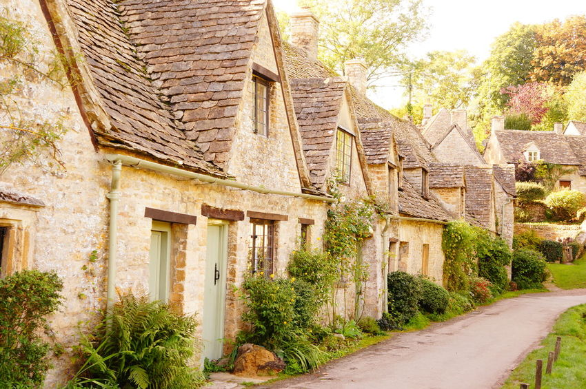 Architecture Bibury British Building Exterior Building Feature Built Structure Cotswold Stone Cotswolds Cotswoldvillages Country Life Country Living Countryside Cultures Day England England, UK Gloucestershire History House No People Outdoors Residential Building Road Village