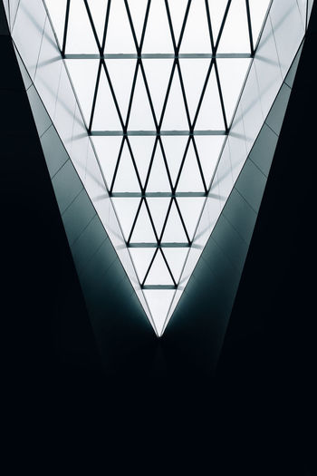 /// Triangle Shape Architecture Built Structure Pattern No People Indoors  Backgrounds Day EyeEm Gallery City EyeEmBestPics EyeEm Best Shots Shootermag Low Angle View The Graphic City