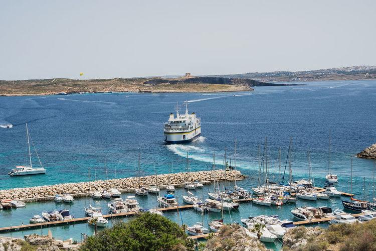 Gozo harbour,