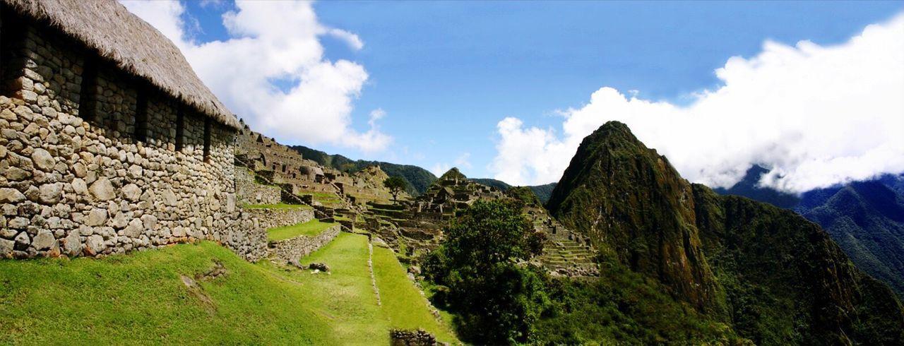 Machu Picchu Inka Cusco, Peru Panorama With 8 Pictures Relaxing Panoramic Photography Travel Photography Travel Destinations Sunset #sun #clouds #skylovers #sky #nature #beautifulinnature #naturalbeauty #photography #landscape Landscape Outdoors Andenes Heritage Heritage Building Best Moments Peru Morning Light Houses And Sky Panorama Sunset_collection Way To Heaven