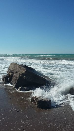 Rocks And Water Sea_collection