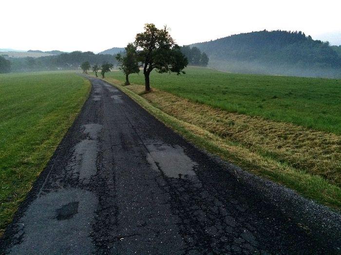 Cesta z Malenovic do Lubna, Beskydy Beskydy Cesta Way Nature Czech Republic