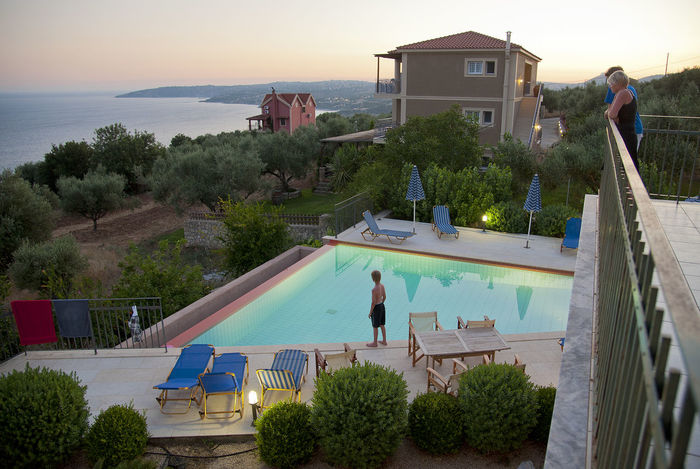 Holiday Swimming With The Fish Architecture Building Exterior Built Structure Greece Ionian Islands Ioniansea Kefalonia Nature One Person Outdoors Pool Sea Swimming Pool Water