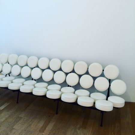 Classic Comfy  Couch Day Design Georgenelson Indoors  Large Group Of Objects Marshmallow Marshmallows Marshmellow No People Sofa Vitra