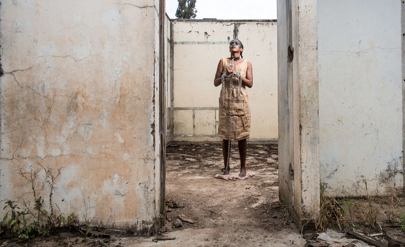 OUTSIDE LOOKING INTO MODERN DAY SLAVERY. Deserted House Freedom Slavery The Fashion Photographer - 2018 EyeEm Awards Black Forest Sackcloth Shackles Slave Slavery Still Exists