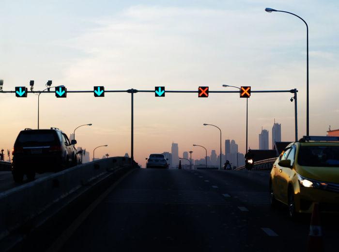 Car Road Signal