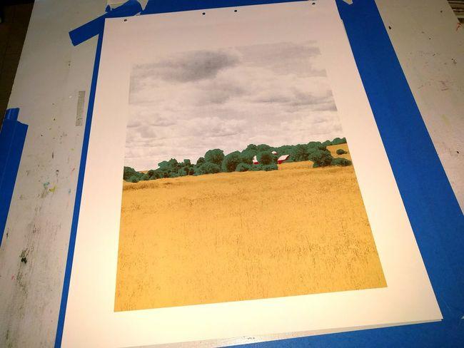 5 color print I'm working on Screenprinting Screenprint Serigrafia Serigraphy First Eyeem Photo