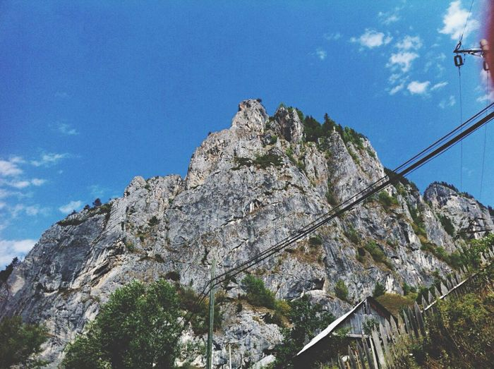Somwhere in Romania. Traveling Mountin