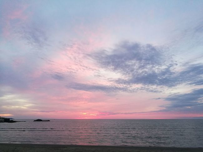 Sea Water Horizon Over Water Sunset Tranquil Scene Scenics Tranquility Beauty In Nature Nautical Vessel Sky Transportation Dusk Nature Ocean Idyllic Cloud Cloud - Sky Majestic Non-urban Scene Tourism light and reflection Art Is Everywhere TCPM