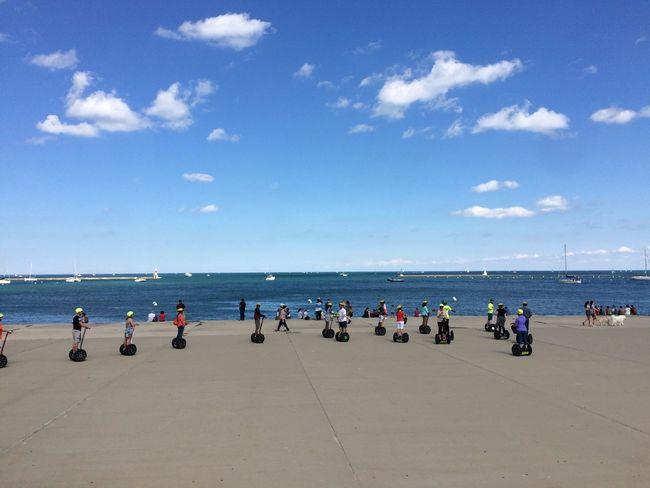 Chicago Sea And Sky Segway