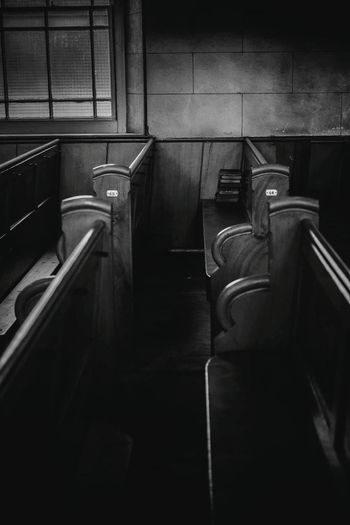 Reconciled huh?. Staircase Steps Railing Steps And Staircases Indoors  Abandoned No People Built Structure Architecture Day Minimlistic Old-fashioned Lighting Photo Assigment Black & White FUJIFILM X-T10 African Blackandwhite Photography Film Photography Fujifilm_xseries Fujifilm Textured  Deserted Houses Chapels Old Chapel