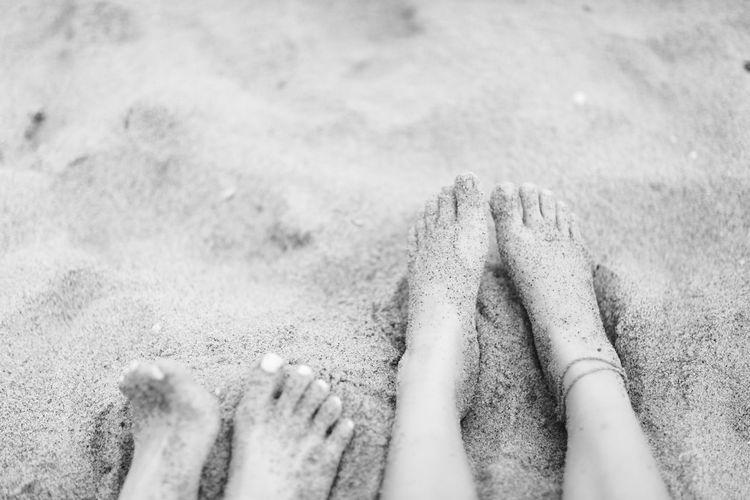 Beach Black & White Blackandwhite Day EyeEm Best Shots EyeEm Gallery EyeEm Nature Lover Foot Helloworld Hi! Human Foot Sand The Week On Eyem