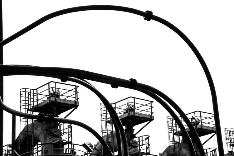 Urbex - 8 Amusement Park Low Angle View Amusement Park Ride Sky Rollercoaster Metal Arts Culture And Entertainment Architecture Day Built Structure No People Nature Clear Sky Outdoors Leisure Activity Fun Silhouette Curve Ride Spiral