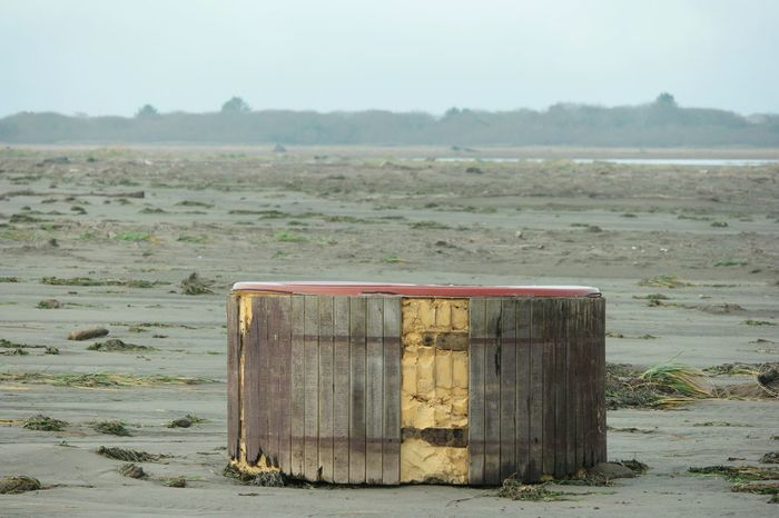 Beach Landscape Outdoors No People Sand Nature Hot Tub Pollution Garbage Environmental Conservation Environmental Issues Environment Pollution In My World Polluted Water Polluted Environmental Pacific Northwest  Pacific Ocean Surfing Paint The Town Yellow