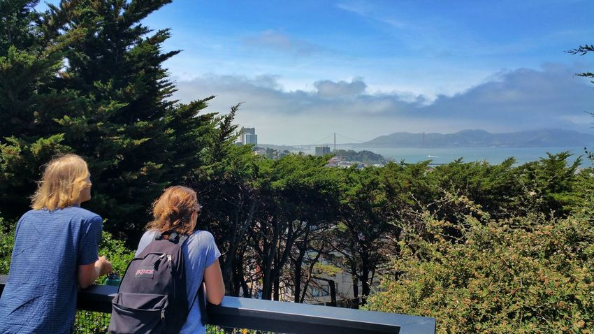 Travel with you. Samsung Note 4 Relaxing San Francisco Galaxy Note 4 Hello World Enjoying Life