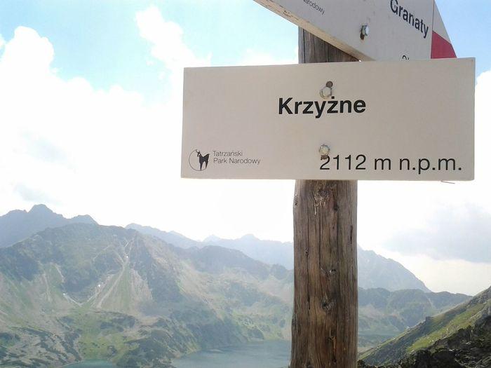 :) Climbing Climbing A Mountain Mountains Mountain View Krzyżne