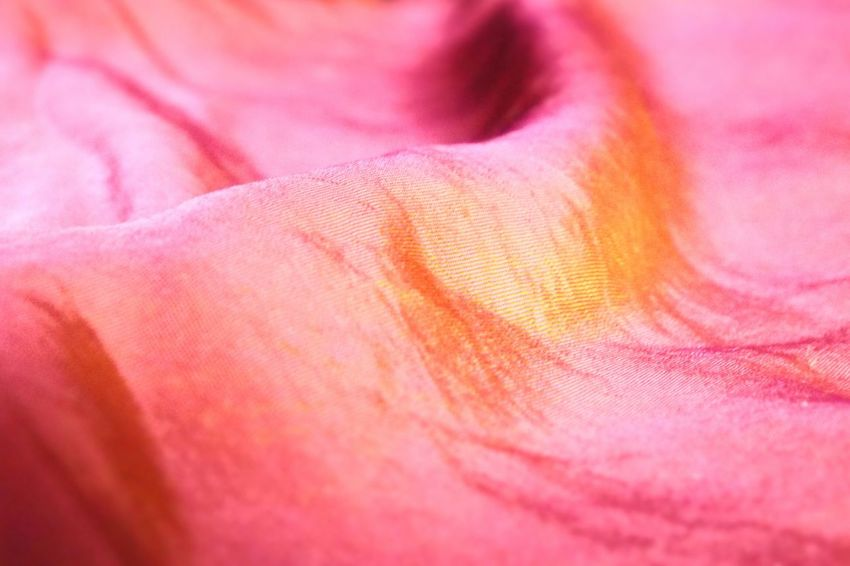 Pink Color Backgrounds Full Frame No People Close-up Fragility Indoors  Colored Selective Focus Tissue Fabric Fabric Detail Fabric Texture Textures And Surfaces Sewing Sewn Tessuto Coperta Blanket Detail EyeEm Gallery Multi Colored Indoors  Textile Textured