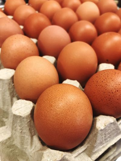 Eggs Brown Eggs Eier Ei Eggs Egg Food And Drink Food Healthy Eating Egg Carton Brown Close-up Freshness No People Fragility