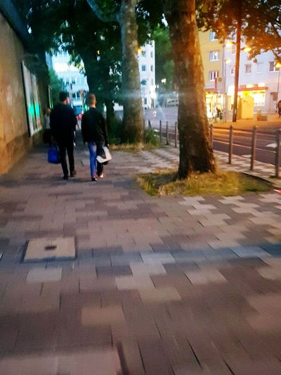 People On The Street People Walking  From Behind Portrait Photography Two People Street Photography Street Life Street Photo City Life City Street City Lights Summertime My City People Portrait Walking Citylife Trees City Nature Two Is Better Than One People_collection Galaxy S7 Edge