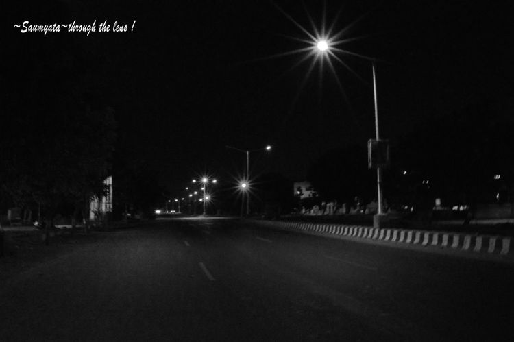 Stree Photography Empty Roads Black And White