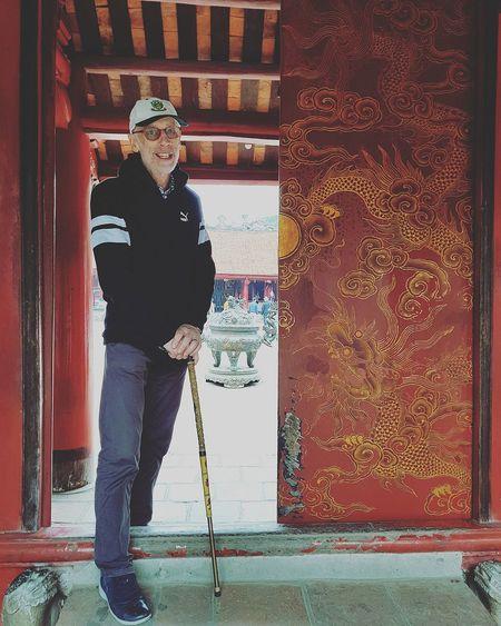 Dragons Dragons Dragons Dragons Temple Of Literature Temple Of Confucius Alan Hanoi Holiday With Sharon Lsc_hanoi Winter ,2018_alan_dragon Doors