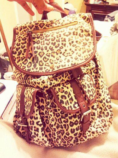 new purse for now #CheetahPrint