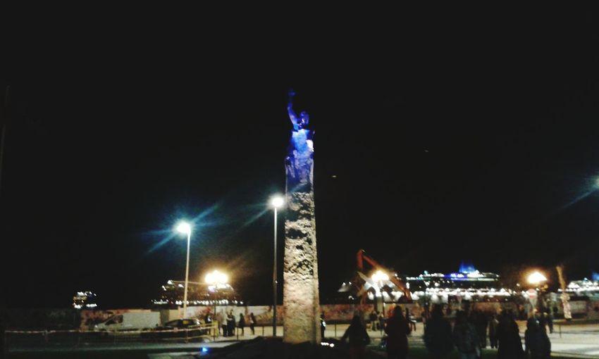 City Madeiraisland Statue Madeira,funchal Portugal