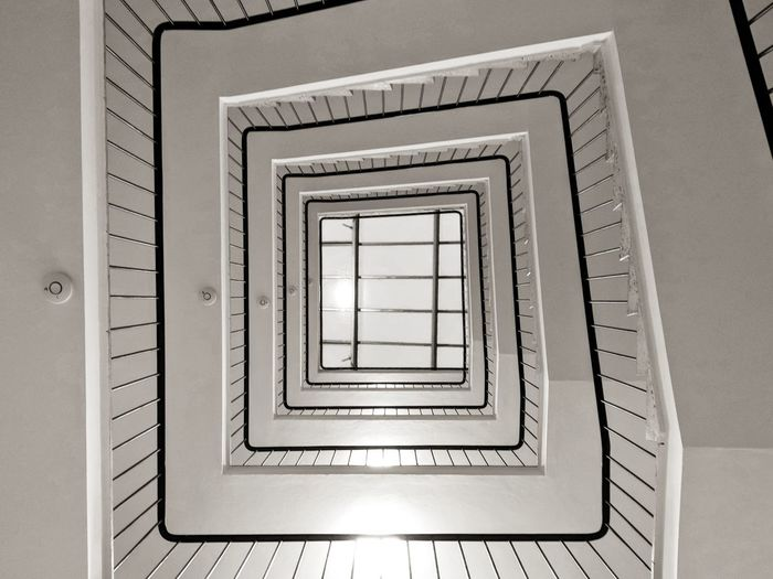 Stairs. Spiral