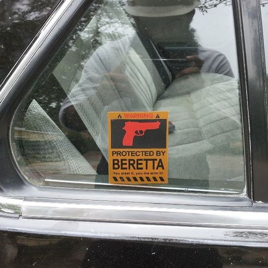 You steal it you die with it.. Life At Stake When you steal this honda accord beretta
