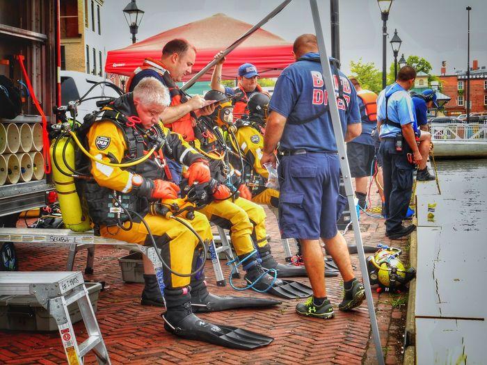 BCFD Dive Rescue Team