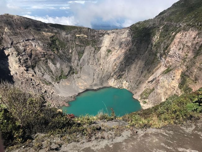 Costa Rica no necesita filtros Mountain Scenics Beauty In Nature Tranquility Non-urban Scene Physical Geography Volcanic Crater