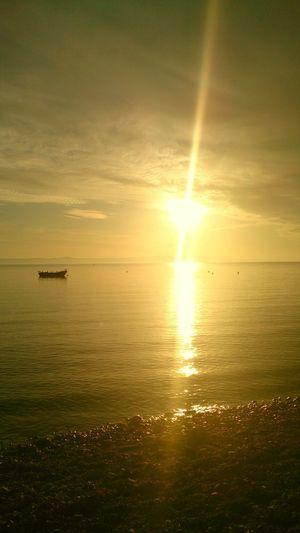 Sunset Enjoying Life Makarska Croatis Sun