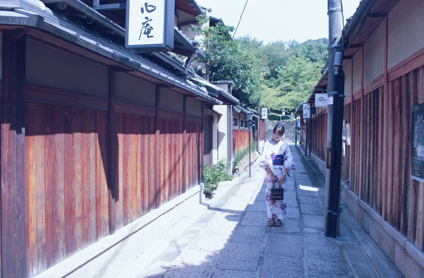 Architecture Built Structure Building Exterior Japanese  Japanese Culture Japan Photography Japan Japanese Style Japan Scenery Japanese Girl Japanese Traditional Kimono Kyoto Travel Me Travel Photography