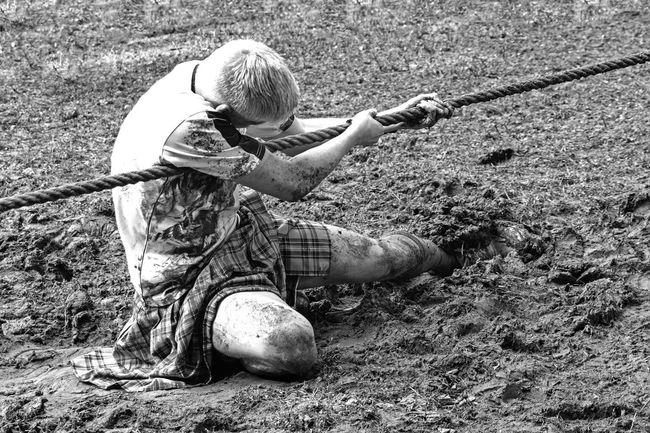 Ambition Black And White Game Highland Games Mud Scottish Sport Tug Of War Snap A Stranger