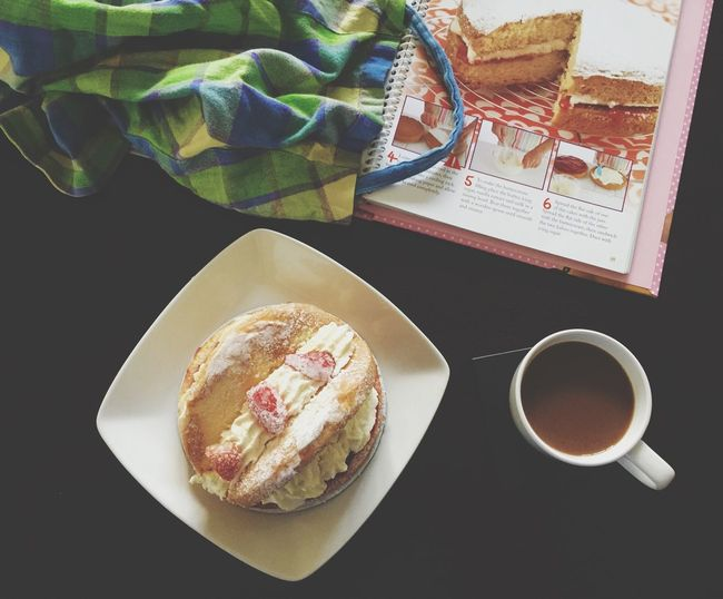 Coffee Time t Home] Mysweettreat Baking A Cake Home Baking Sweettooth Cake♥ Coffee ☕ Treat Dessertphotography Bakeacake Freshly Baked Wake And Bake
